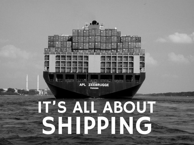 It's all about shipping