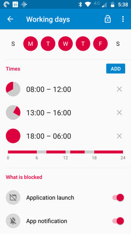 Blocking By Time