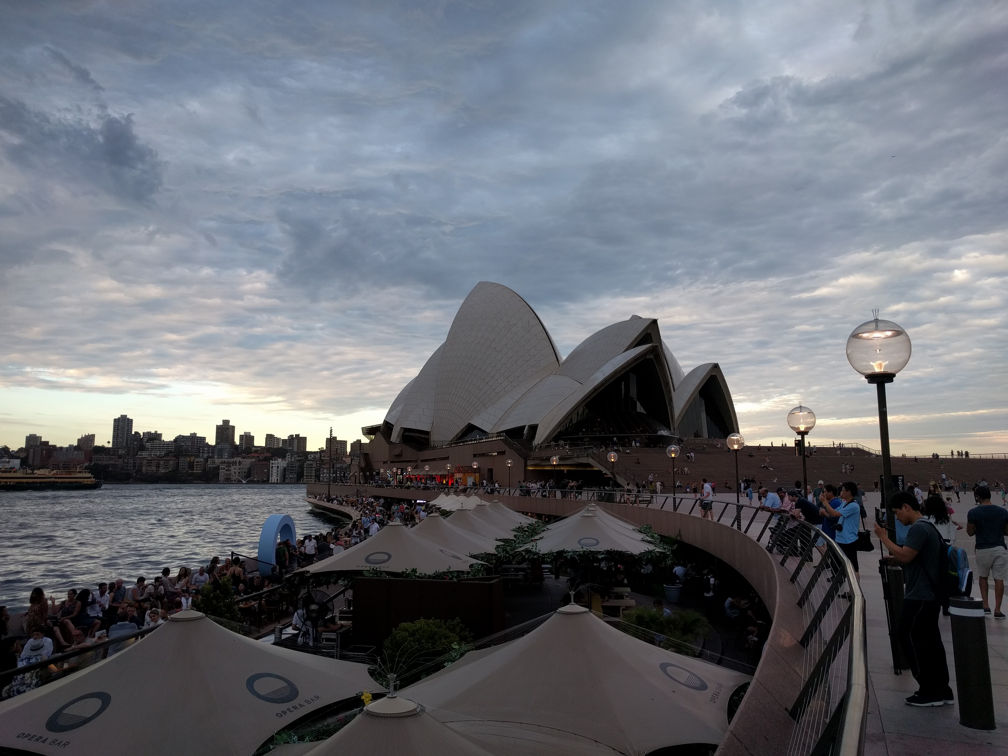 View from Opera House Bar Sydney